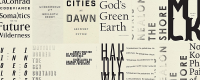 Minimalist Cover Design: Wave Books Press and Their Distinct Typographic Cover Designs