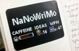 What time is it? It's NaNoWriMo Time!