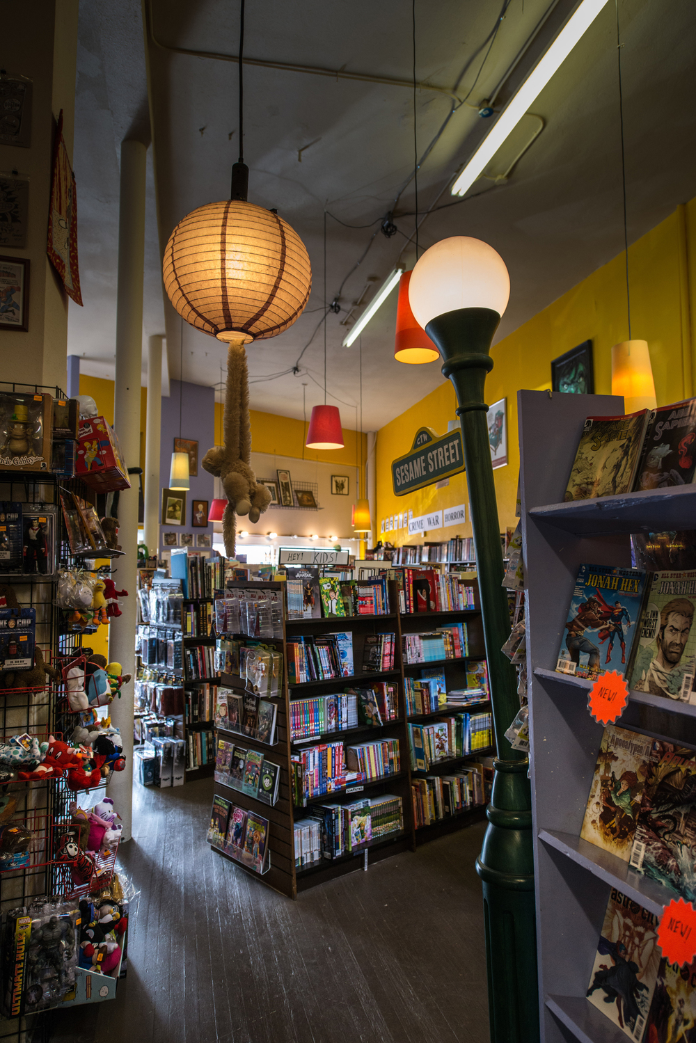 What Comic Book Stores Can Teach Us