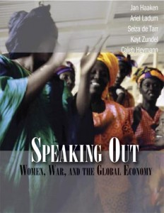 Backlist to the Future: Speaking Out: Women, War and the Global Economy