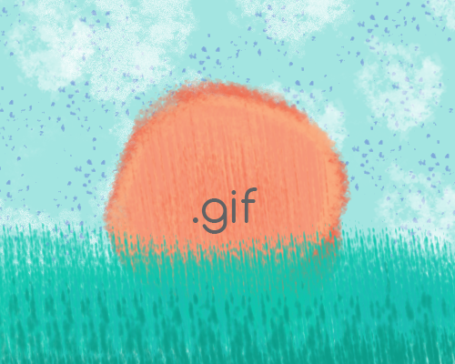 The Dawn of the Publishing GIF