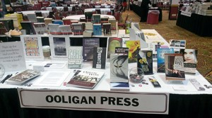 Ooligan Press at the PNBA Tradeshow